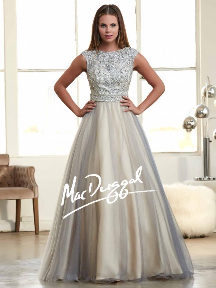 Platinum Prom Dresses 2015