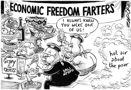Image result for zapiro eff cartoons