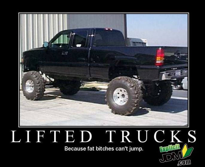 6f652470784eb22b64f9ae0be09e782b lifted trucks meme trucks pinterest meme, truck memes and