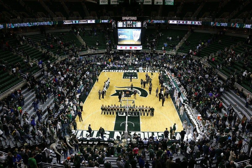 Printable 2016 17 Michigan State Spartans Basketball