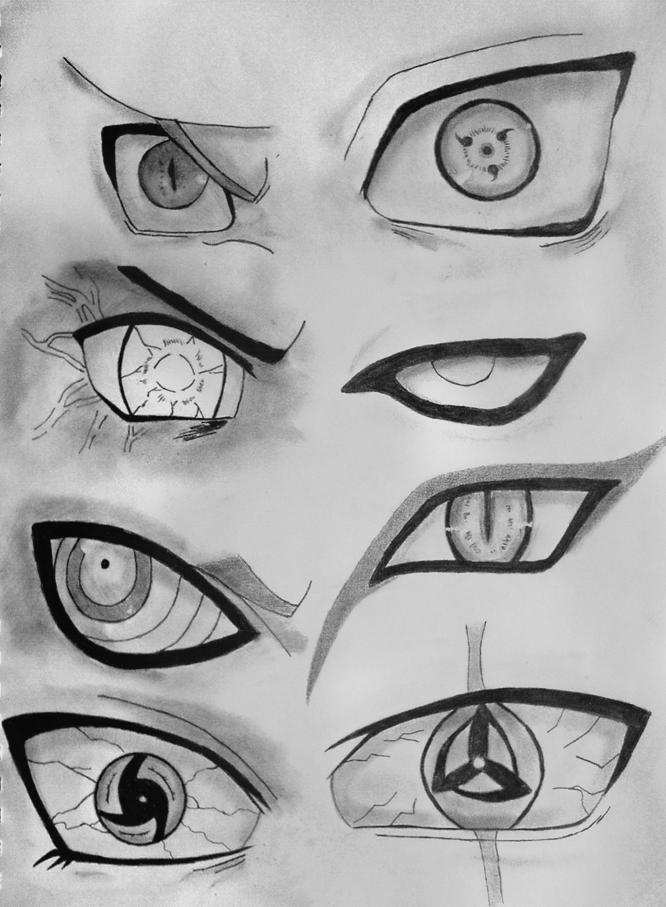 Naruto Eyes. by Fanglesscobra.deviantart.com on @deviantART   Naruto ...
