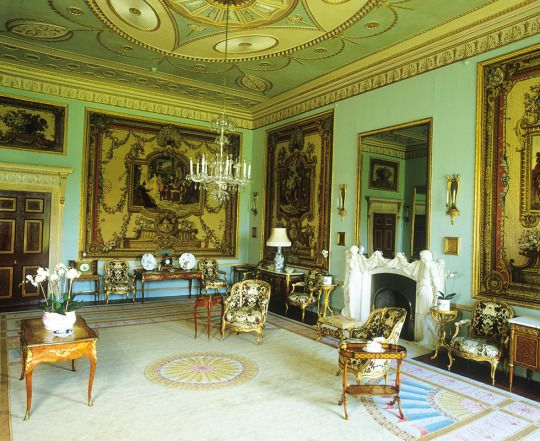 Tapestry Room Goodwood House House Dreamy Room Salas Living Room