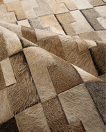 Natural Cowhide Rugs Huge Range Leffler Leather Melbourne Australia Kachita Patchwork