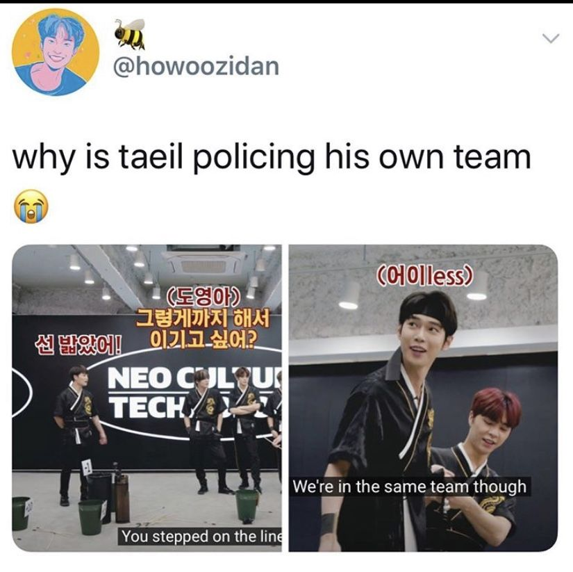 Pin By Yasmine On Nct In 2020 Funny Korean Funny Memes Comebacks Nct