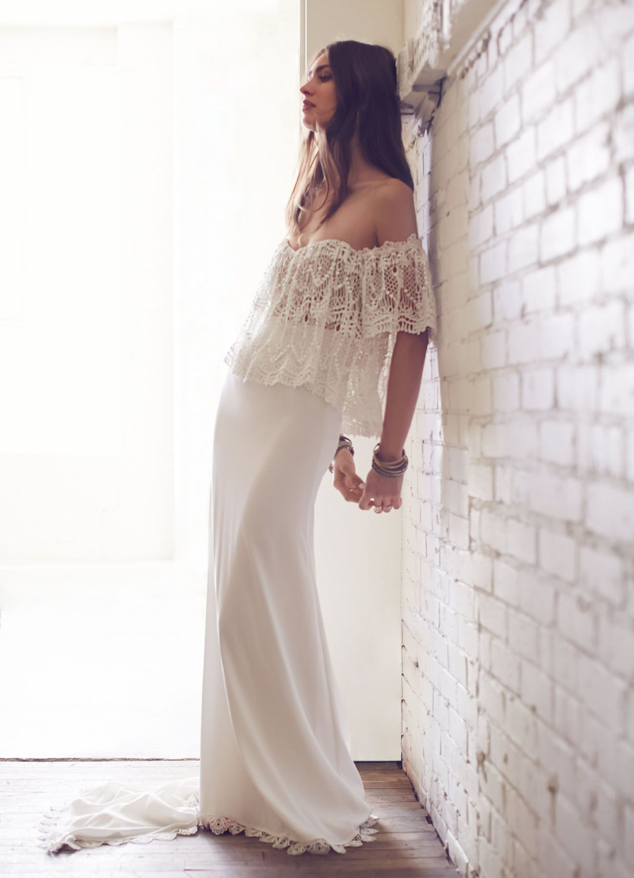 Free People Spring 2016 Wedding Dress Collection Green Wedding Shoes Bridal Dress Shops Free People Bridal Fashion