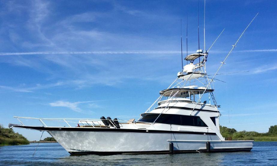 1999 Striker Compare Viking Hatteras Custom Power Boat For