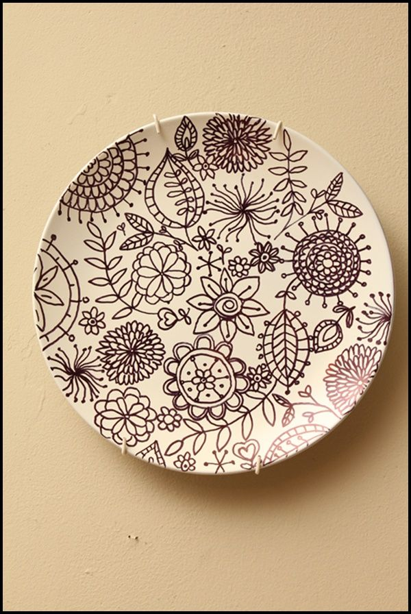 45 Pottery Painting Ideas and Designs | Sharpie art, Pottery ...