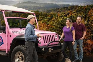 Pink Jeep Tours Smoky Mountains Smokies Pink Jeep Smoky Mountains