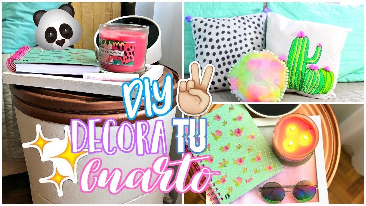 Diy Decora Tu Cuarto Tumblr Diy Ideas Para Crafts