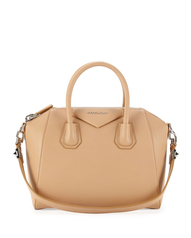 3584870af3b Givenchy Antigona Sugar Satchel Bag, Light Beige   HANDBAGS   Bags ...
