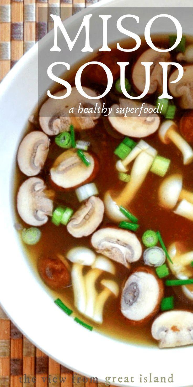 Miso-Suppe ist das Original-Naturkost! #das #ist #MisoSuppe #naturkost #original #OriginalNaturkost #suppe #bananenbrotrezept #crockpotrezepte