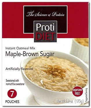Protidiet Oatmeal Maple Brown Sugar 7 Box In 2018 Low Carb
