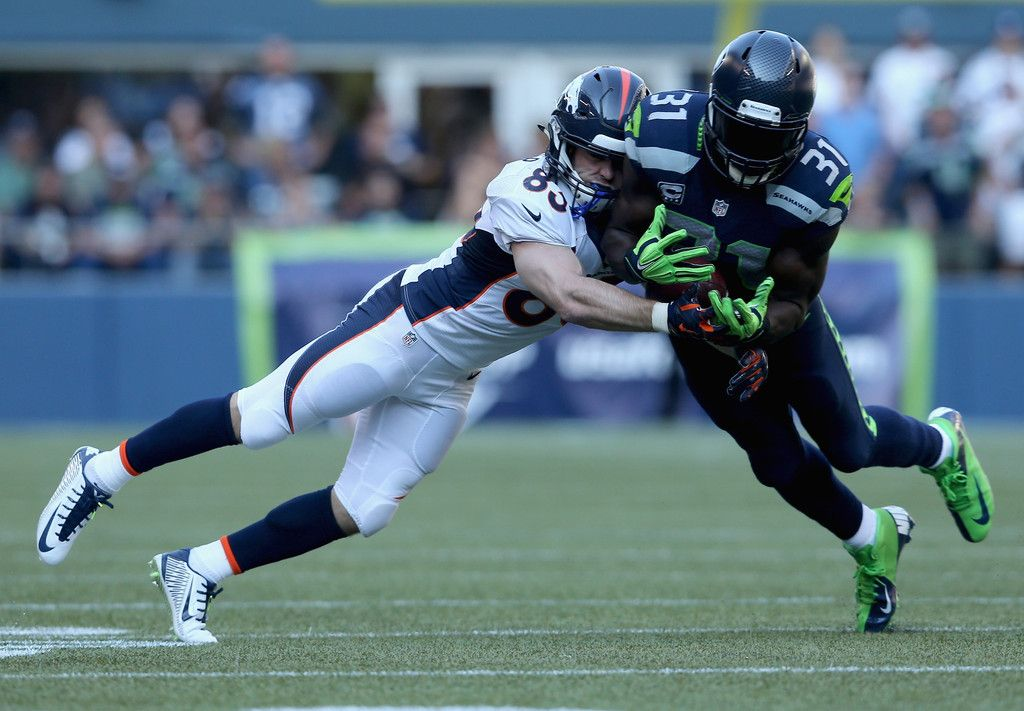 Strong safety Kam Chancellor 31 of the Seattle Seahawks