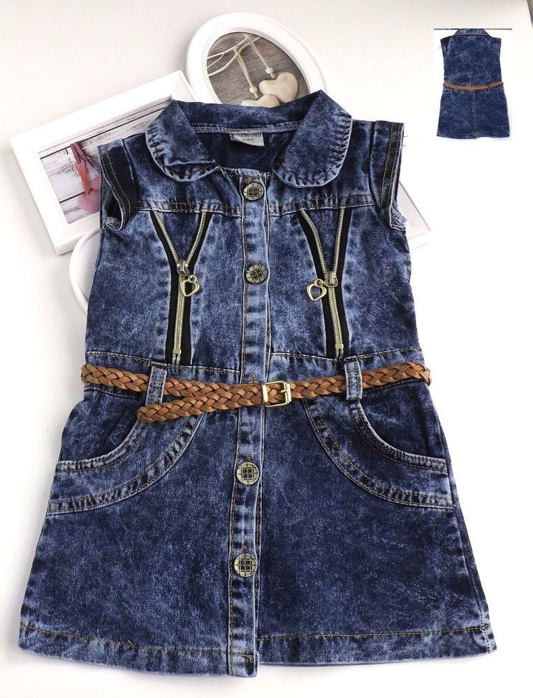Jeans kleid madchen
