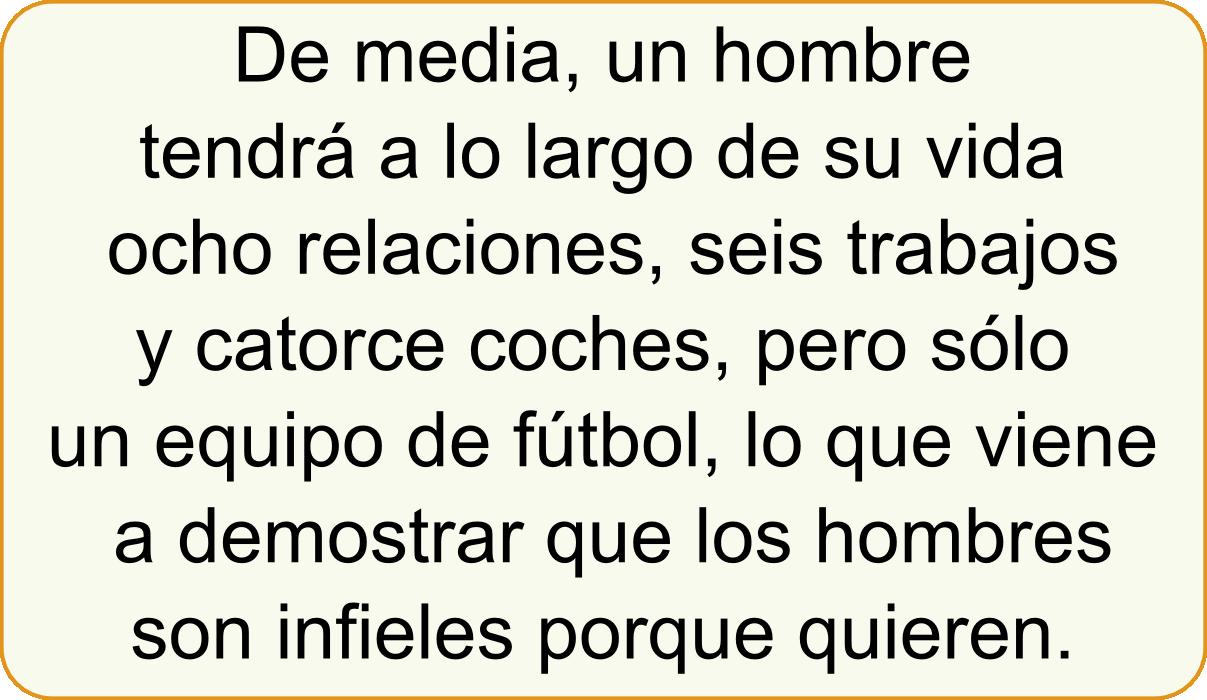 la #fidelidad y los #hombres