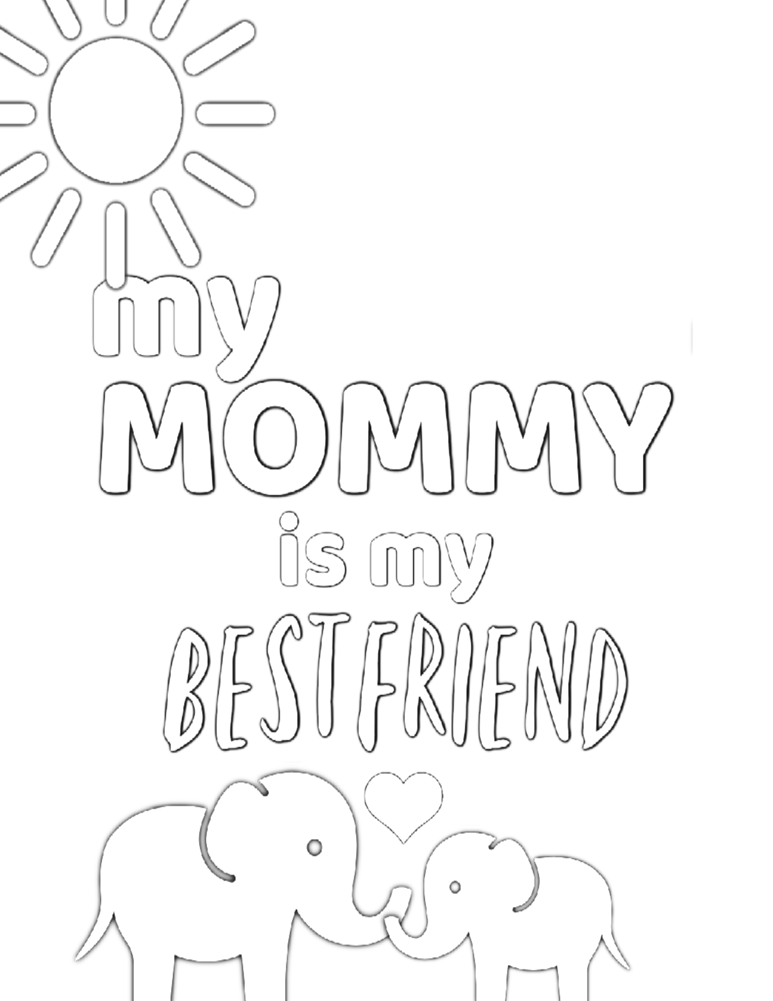 Free Printable Coloring Pages For Mom Mothers Day Coloring Pages Coloring Pages Mom Coloring Pages