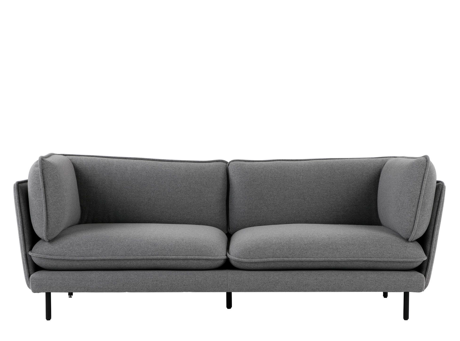 Wes 3 Seater Sofa Elite Grey Sofa