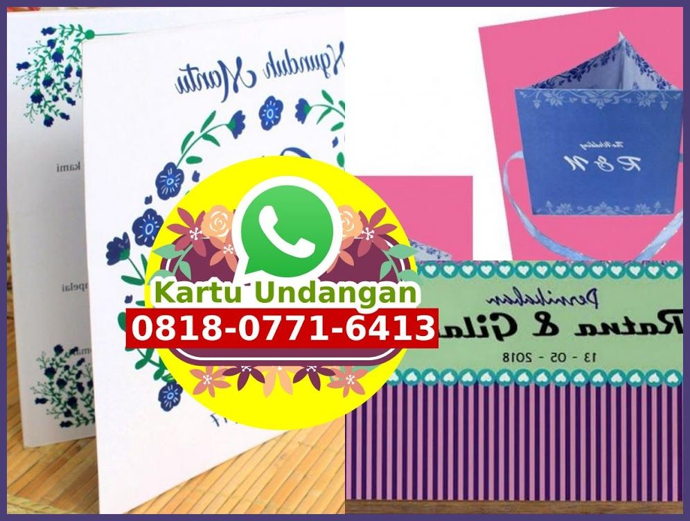 Tempat Buat Kartu Undangan Di Denpasar O818 O771 6413 Whatsapp Gum