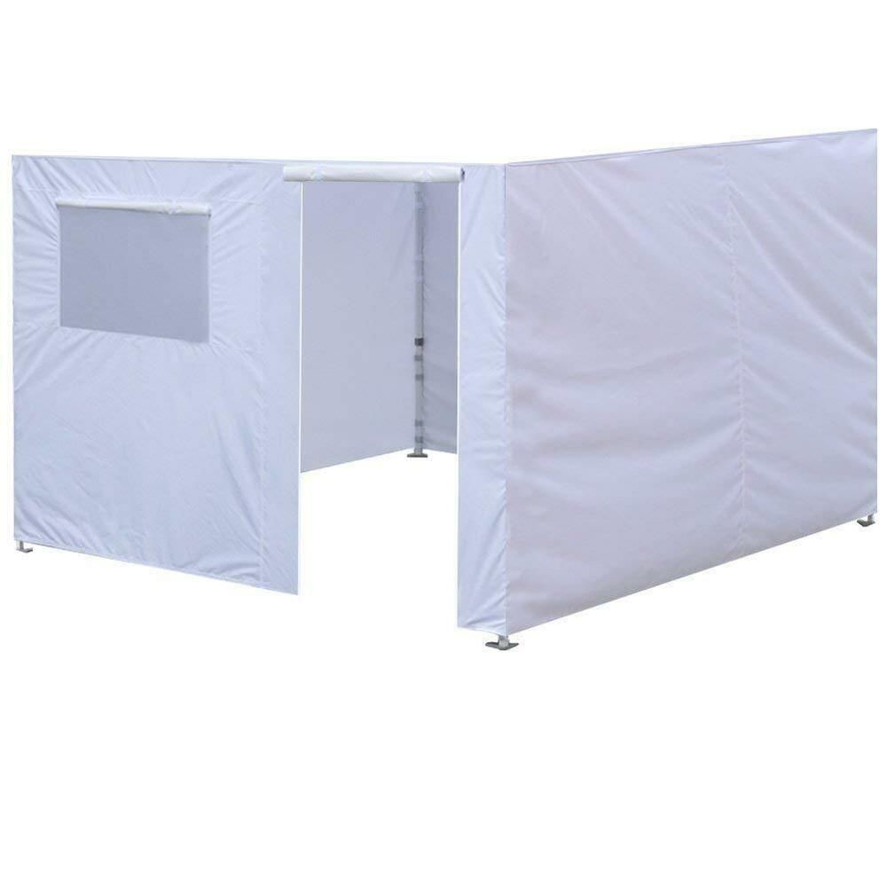 Advertisement Ebay 10x10 White Side Walls For Ez Pop Up Canopy Tent Only Wall Kit Pop Up Canopy Tent Canopy Tent Shade Tent