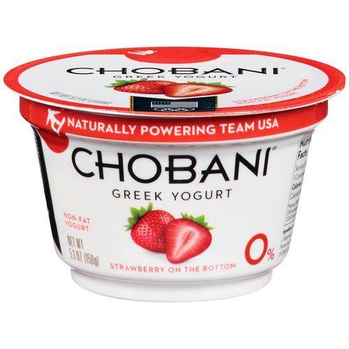 Chobani Strawberry Greek Yogurt 3 With Images Chobani Greek