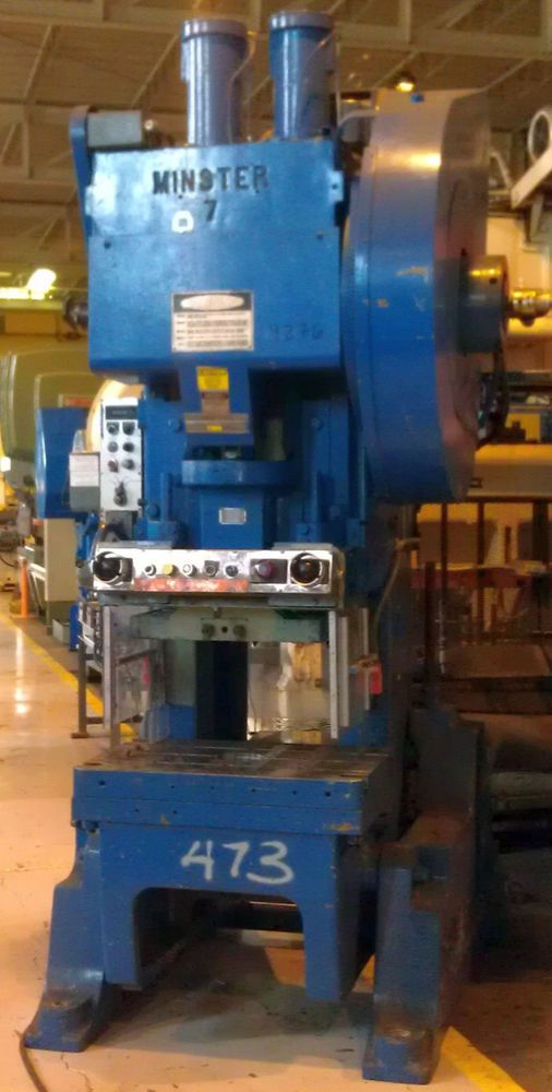 Details about 75 TON USI - CLEARING O B I  SINGLE GEARED PRESS W