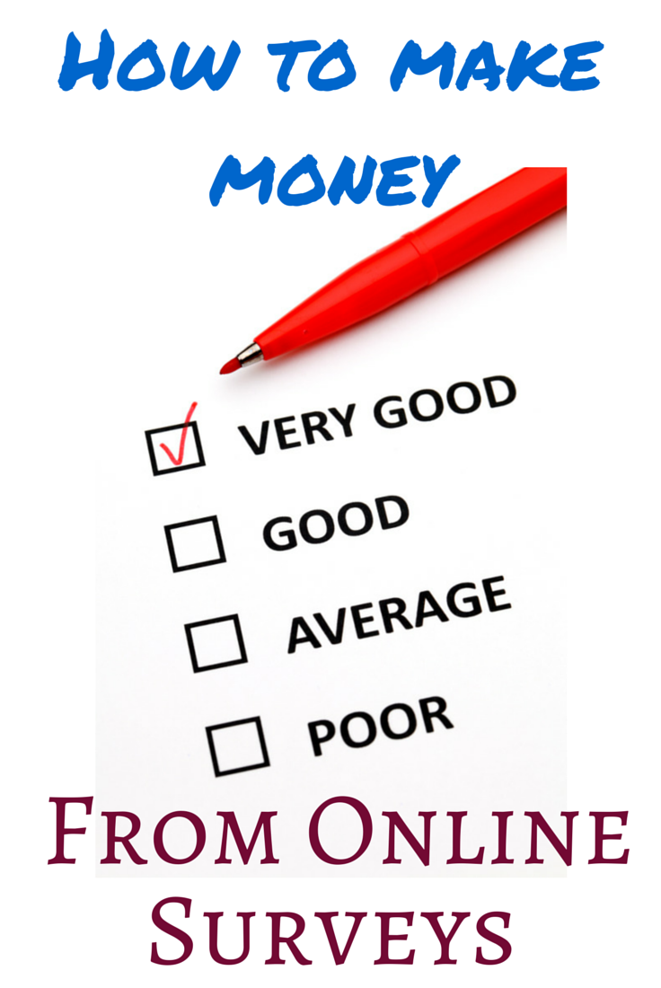how to make money out of internet online paid surveys