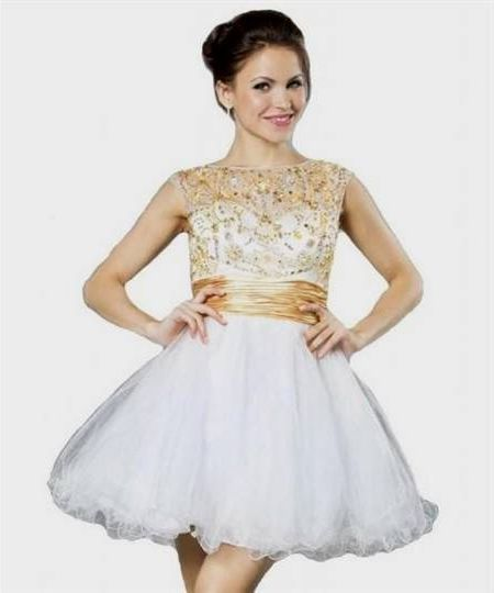 Awesome Short Gold Prom Dresses 2018   Cars 2017   Pinterest   Gold ...