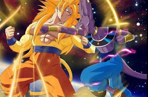 Dragon Ball Z Batalla De Dioses Primera Imagen De Goku Como Super Saiyajin Dios Y Nuevo Poster Personajes De Dragon Ball Imagenes De Dragon Dragones