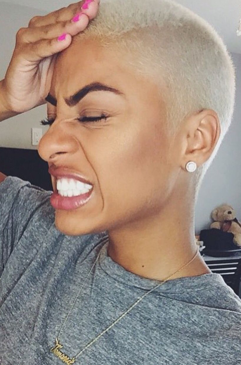 Natural hairstyles for short hair black women hair and tattoos - Find This Pin And More On Short Hair Don T Care