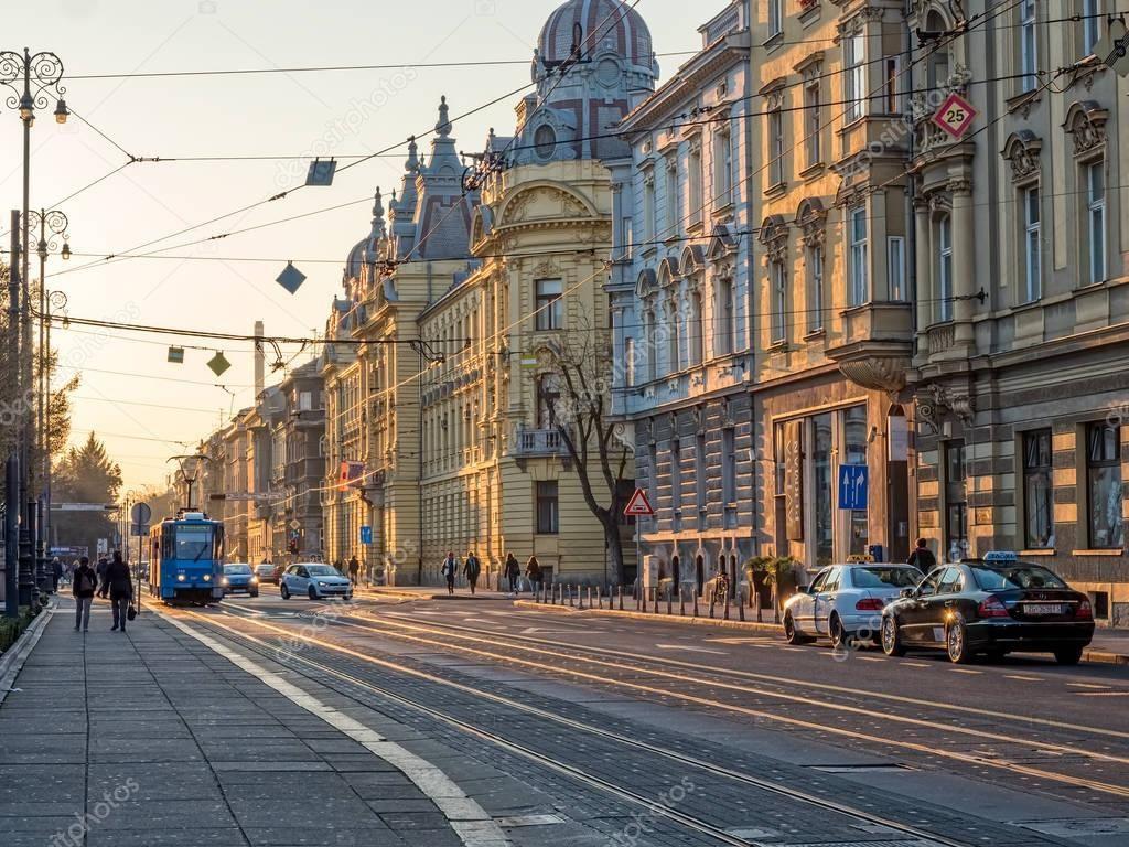 Mihanoviceva Street Zagreb Stock Photo Spon Street Mihanoviceva Zagreb Photo Ad Zagreb Places To Travel Street