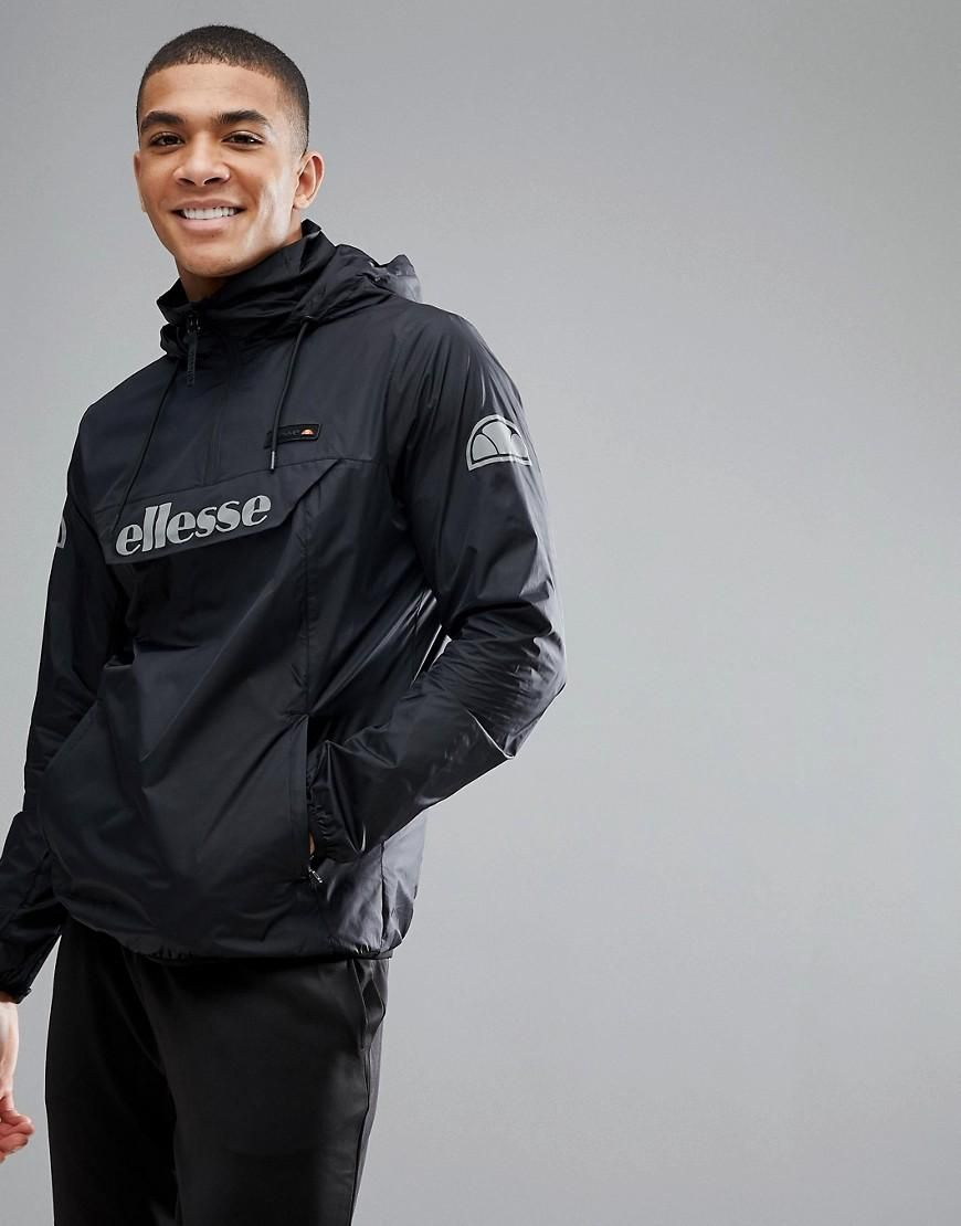 watch hot new products discount sale ASOS - #Ellesse Ellesse Sport Overhead Jacket With Logo ...