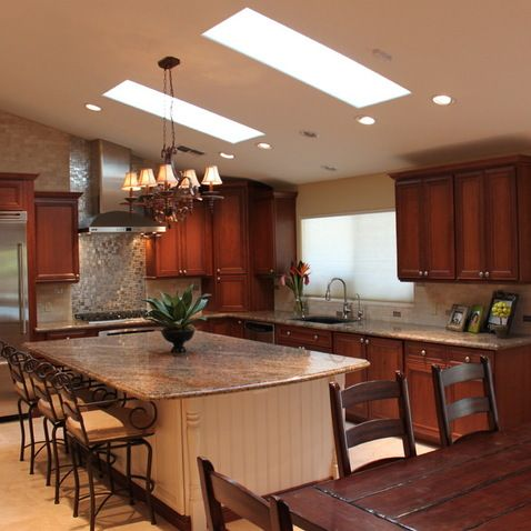 vaulted ceilings design ideas pictures remodel and decor page 30 kitchen remodel layout on kitchen cabinets vaulted ceiling id=56892