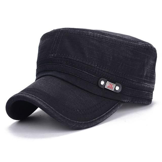 16cd52b2377 cotton flat top arm baseball cap snapback hats trucker hat for men women