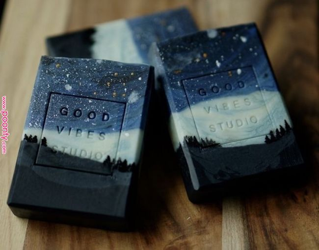 Best of the Best Soap Designs ~ Kabuki Rune ~ Trust me they are Lush #soappackaging