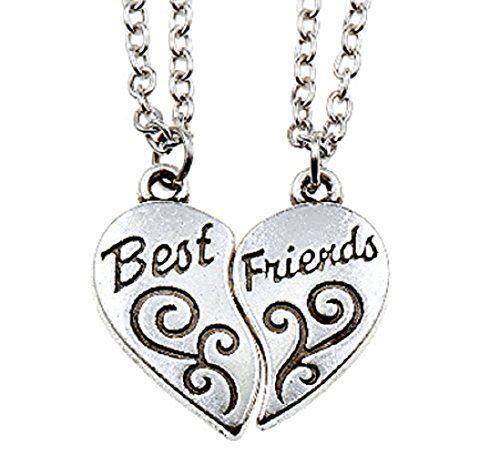 collane con scritto best friend