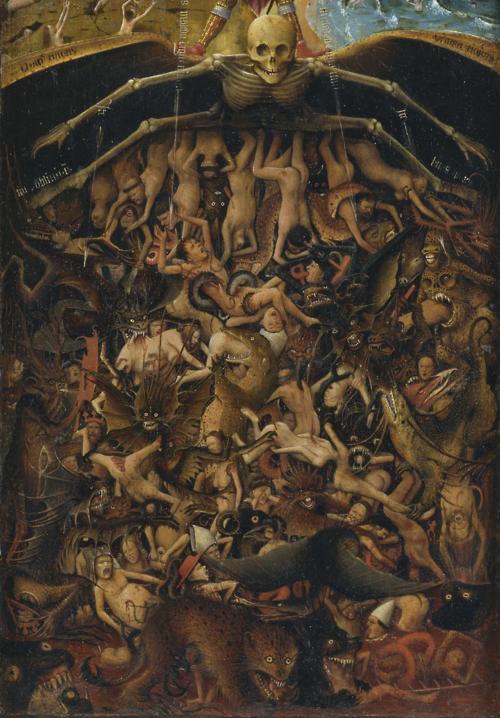 The Last Judgment. Jan van Eyck
