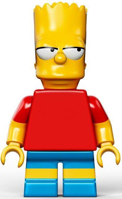 Bart Simpson The Simpsons Cartoon Custom LEGO Minifigure MATT GROENING BART Homme