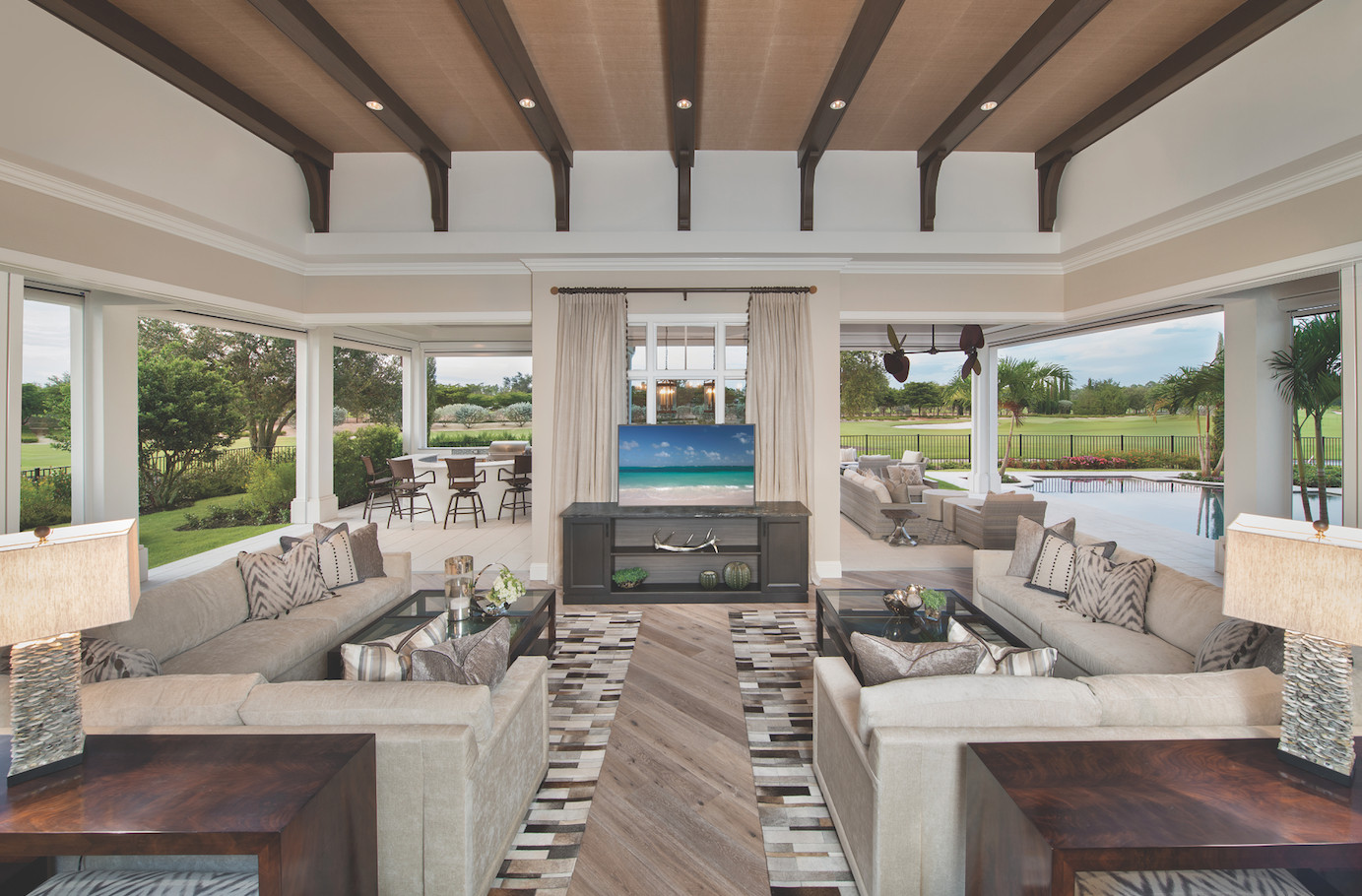 This Beautiful Living Room Was Featured In The January 2016 Edition Of Home Design Magazine