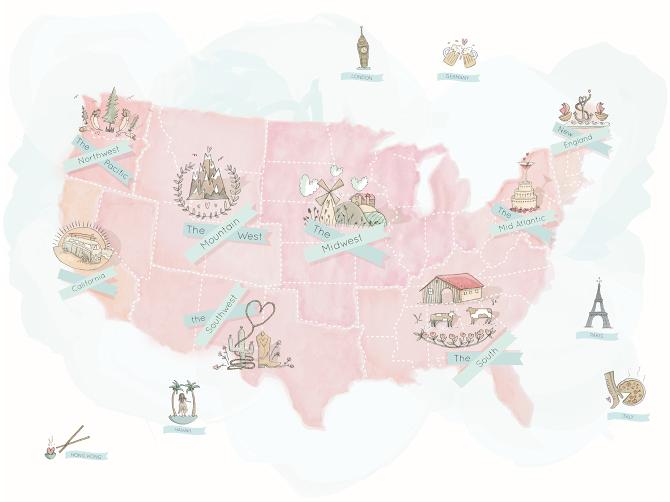 Simply Bloom Map - EloiseTimmis | design/illustration