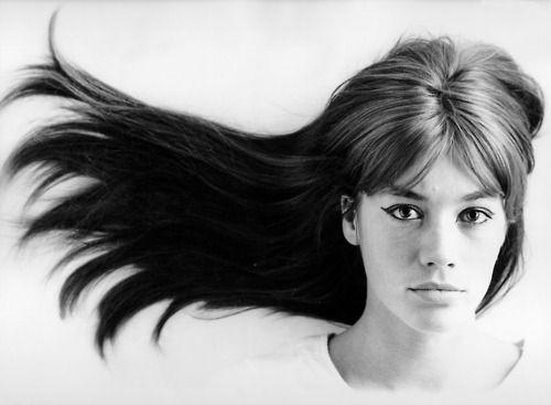 Francoise Hardy, singer, actress, style icon.