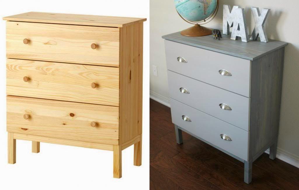 Customiser la commode Tarva Ikea Ikea hack, Furniture makeover and