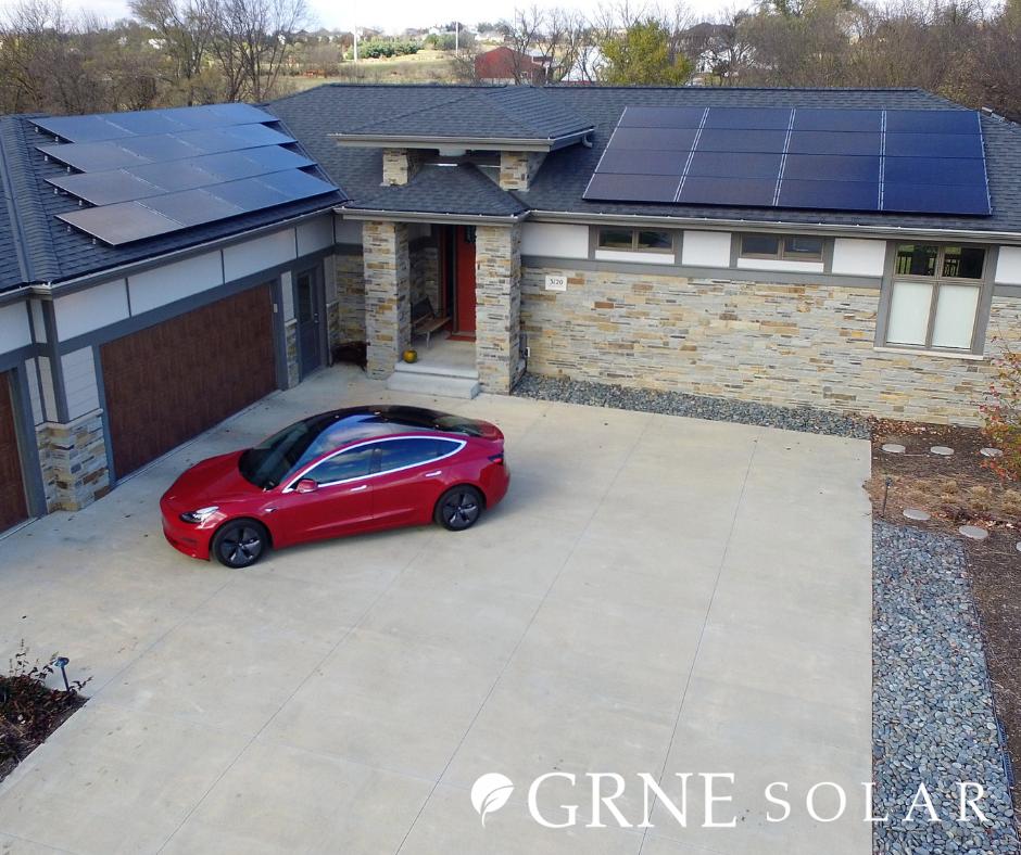 Solar Panel Home Tesla Car Residential Solar Solar Installation Solar Panels