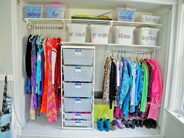 Como organizar un armario 44 consejos que te ayudar n trucos pinterest armarios - Armarios de plastico para ropa ...