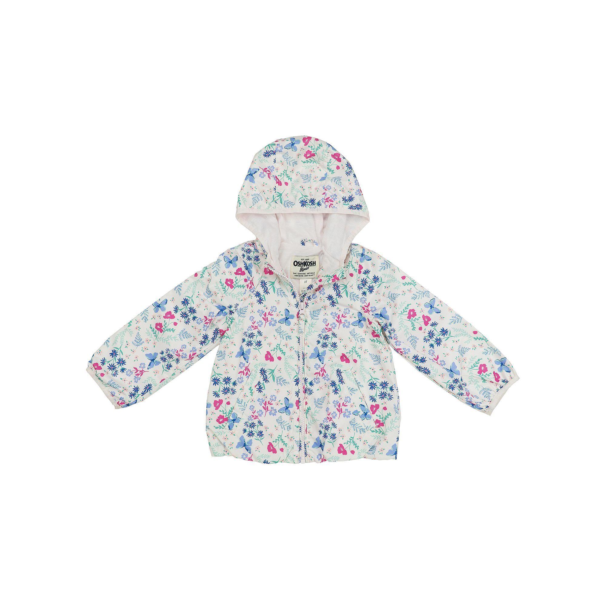 ff9b5e051eac Toddler Girl OshKosh B gosh® Lightweight Floral Jacket
