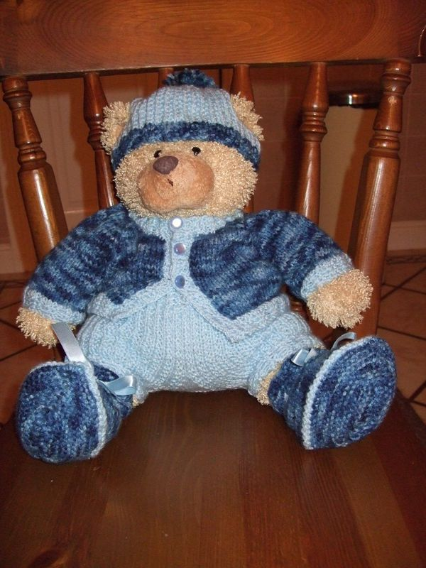 Teddy Bear Clothes | Doll\'s Clothes for Heather and Ted | Pinterest