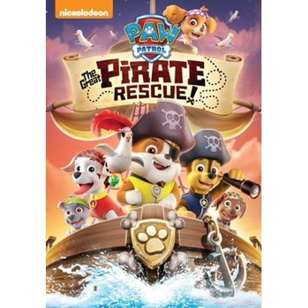 Paw Patrol The Great Pirate Rescue DVD   Paw Patrol The Great Pirate Rescue dvd