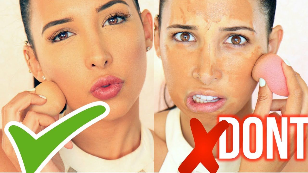 Foundation DO's and DON'Ts Makeup tutorial foundation