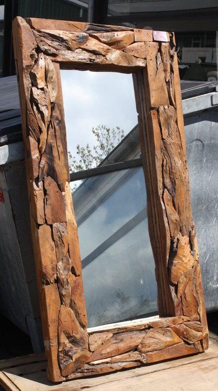Spiegel Treibholz Teak 170x90 Massivholz Mobel Aus Teakholz