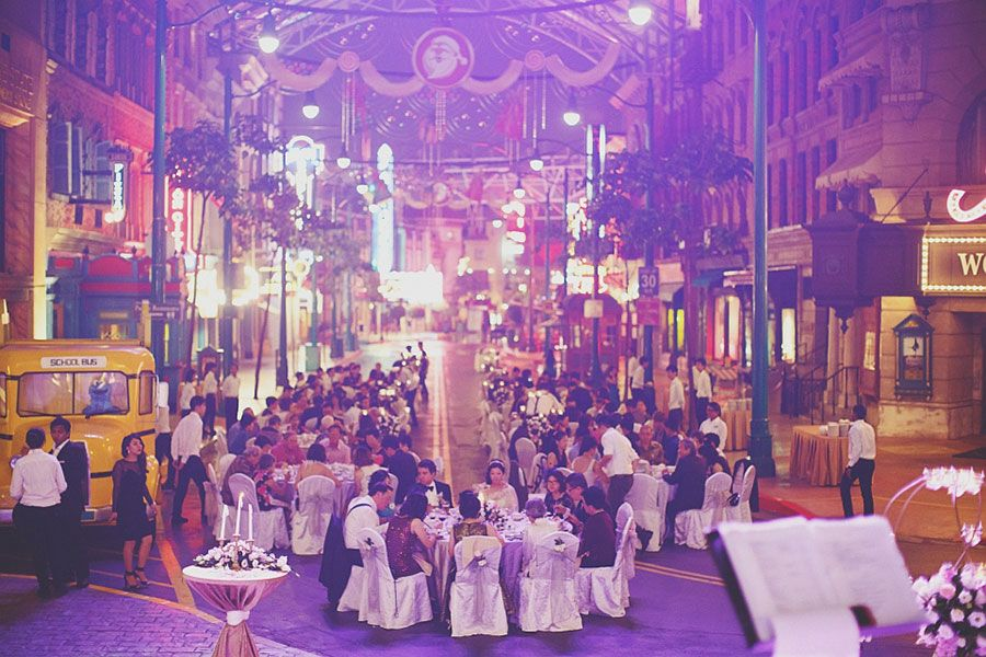 Marc And Lyn S Fun Filled Wedding At Universal Studios Singapore