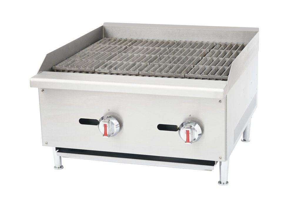 Commercial Kitchen Gas Char-Broiler Radiant 24\